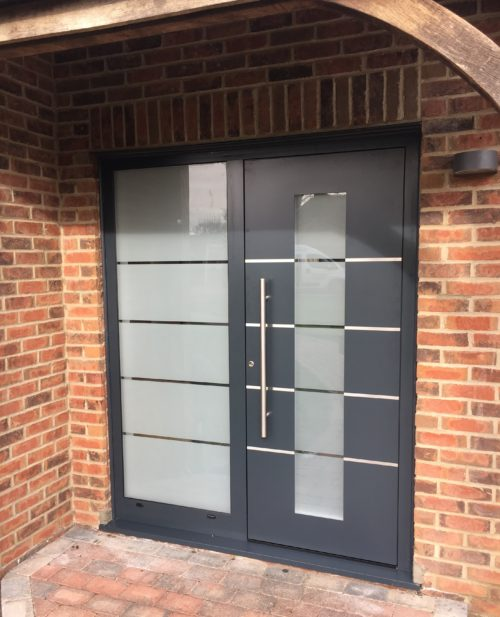 AFDS Aluminium Front Doors
