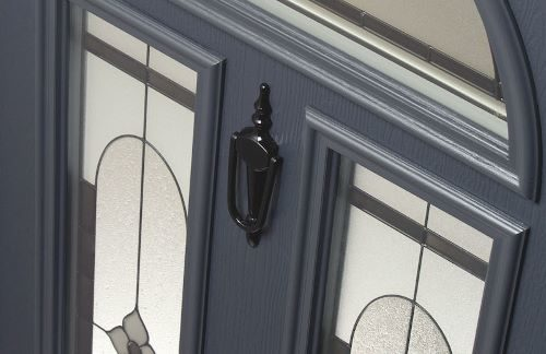 Composite front doors accessories