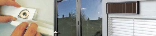 Integral blinds components