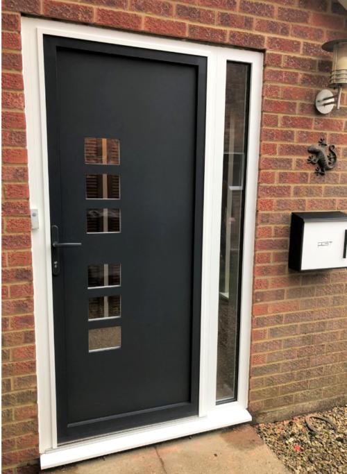 OPT-AFD Aluminium Front Door