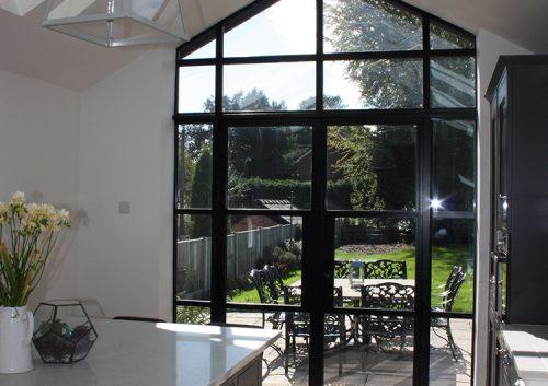 Elegance Heritage doors garden view