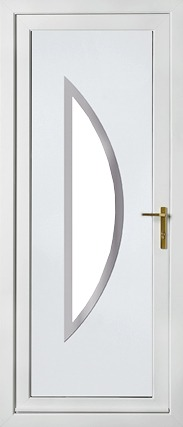 PVC Modern Front Doors